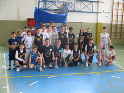 i piccoli del mini basket