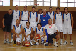 Italbasket maschile terza classificata